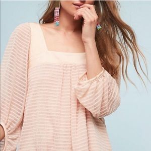 NWT Anthropologie Meadow Rue Allyson Textured Top